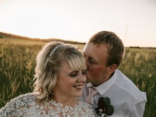 The wedding of Bailey and Kyle 1