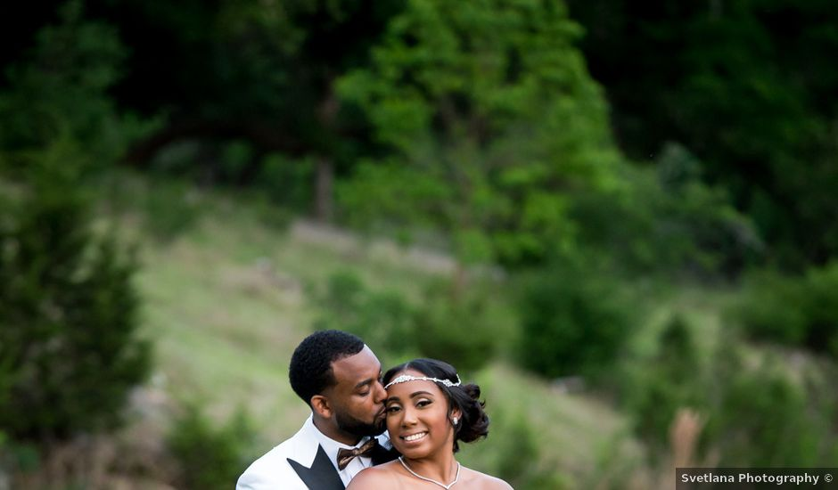 Kaylan and Tony's Wedding in Spring Branch, Texas
