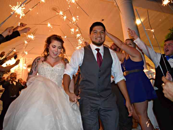 The wedding of Chelsea and Jose