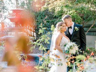 The wedding of Sarah and David 1