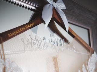The wedding of Alejandra and Eddie 1