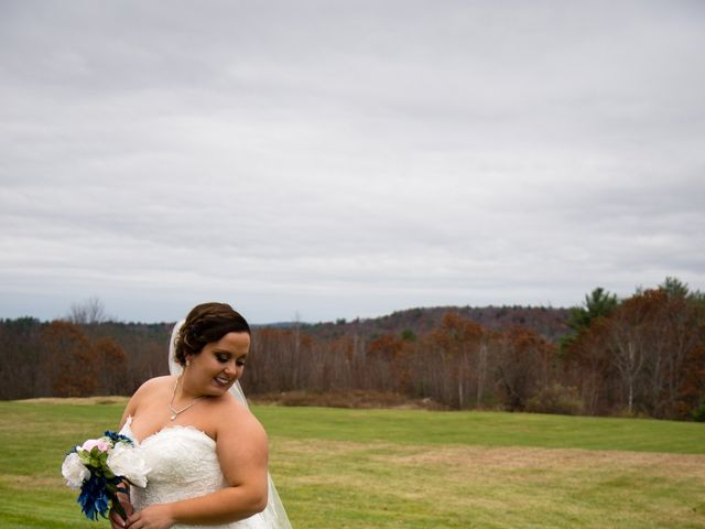 Kasey and Jamie's Wedding in Chichester, New Hampshire 7