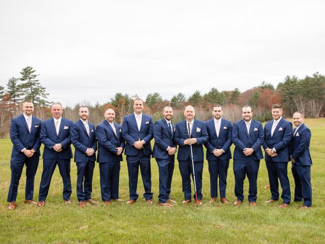 Kasey and Jamie's Wedding in Chichester, New Hampshire 8
