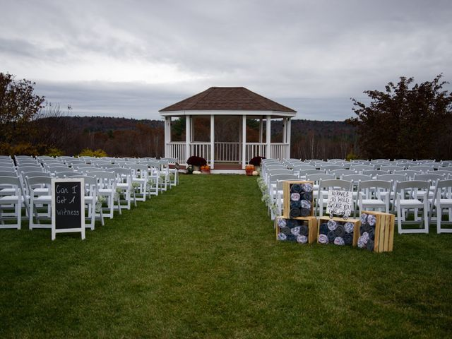 Kasey and Jamie's Wedding in Chichester, New Hampshire 10