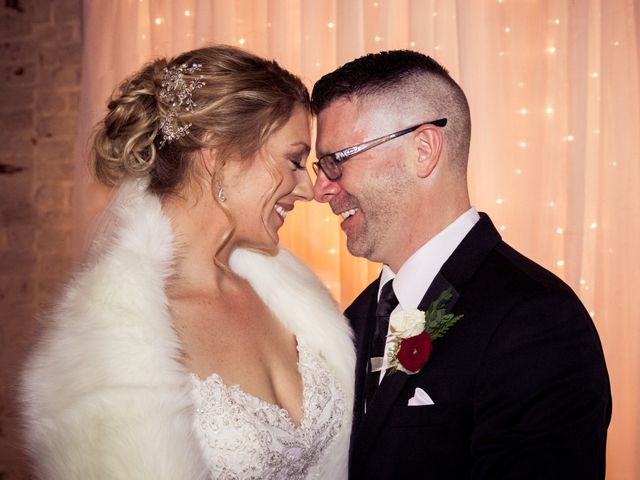 The wedding of Tracy and Brian