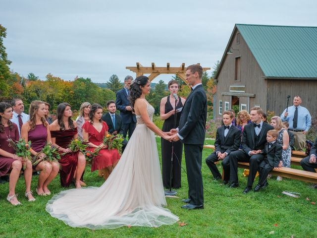 Kris and Victoria's Wedding in Tamworth, New Hampshire 1