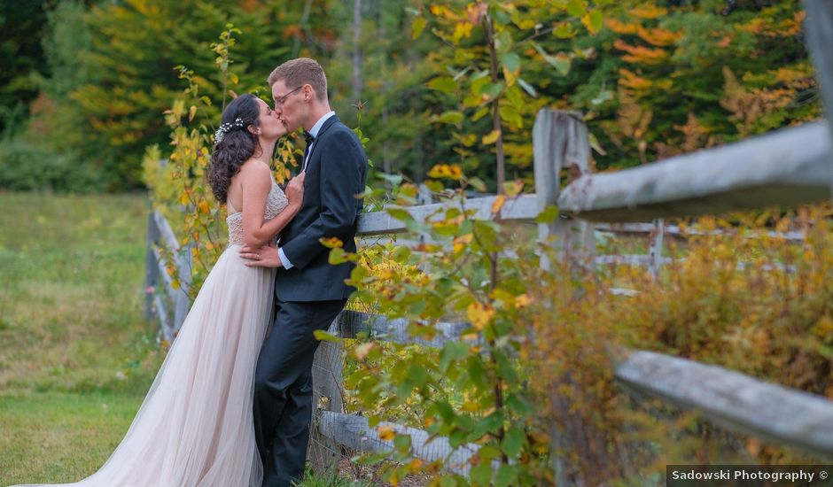 Kris and Victoria's Wedding in Tamworth, New Hampshire