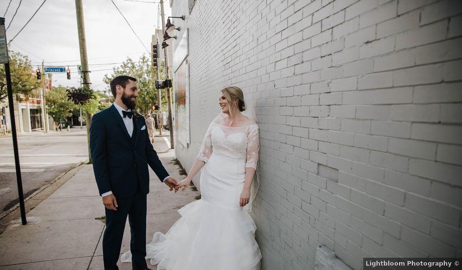 Paul and Jen's Wedding in Wilmington, North Carolina