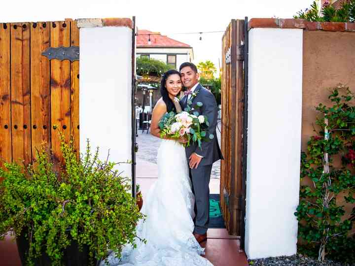 The wedding of Devin and Christine