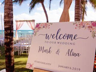 The wedding of Alina and Mark 1