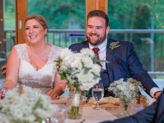 The wedding of Caroline and Justin