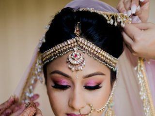 The wedding of Amar and Megha 1