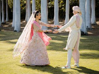 The wedding of Amar and Megha