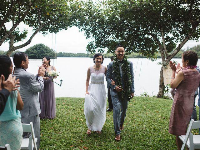Teresa and Richard's Wedding in Kaneohe, Hawaii 17