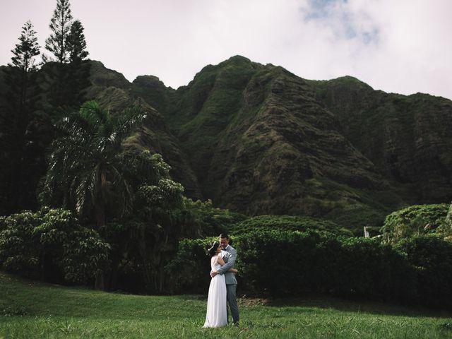 Teresa and Richard's Wedding in Kaneohe, Hawaii 11