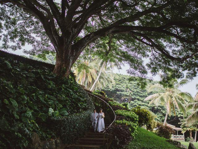 Teresa and Richard's Wedding in Kaneohe, Hawaii 12