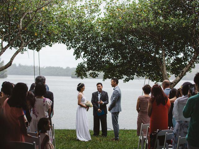 Teresa and Richard's Wedding in Kaneohe, Hawaii 13