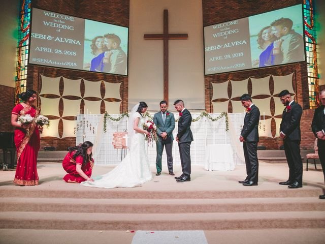 Sebi and Alvina's Wedding in Southfield, Michigan 14
