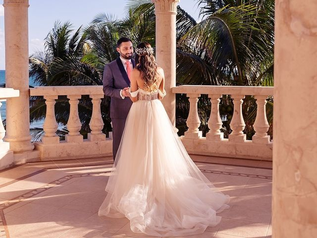 Mark and Alina's Wedding in Playa del Carmen, Mexico 10