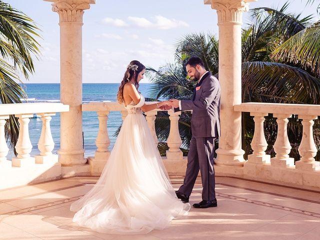 Mark and Alina's Wedding in Playa del Carmen, Mexico 11