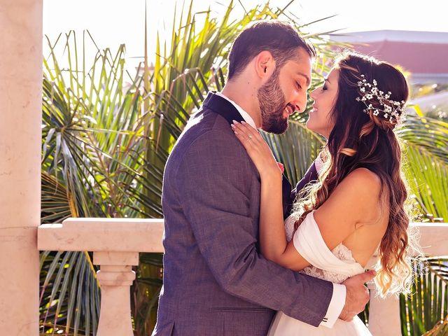 Mark and Alina's Wedding in Playa del Carmen, Mexico 12