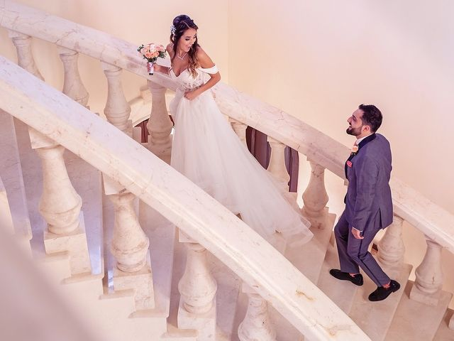 Mark and Alina's Wedding in Playa del Carmen, Mexico 17
