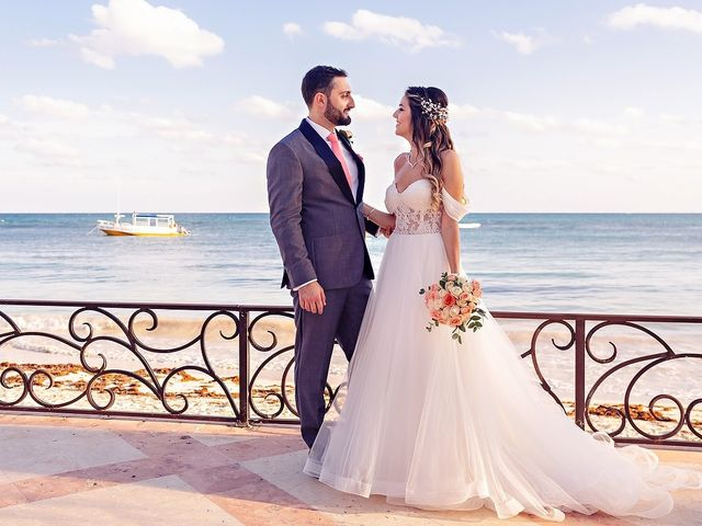 Mark and Alina's Wedding in Playa del Carmen, Mexico 22