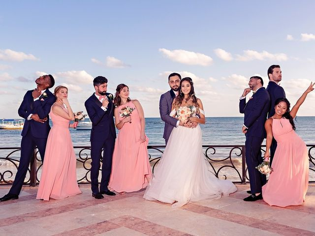 Mark and Alina's Wedding in Playa del Carmen, Mexico 25