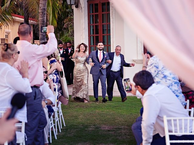 Mark and Alina's Wedding in Playa del Carmen, Mexico 27