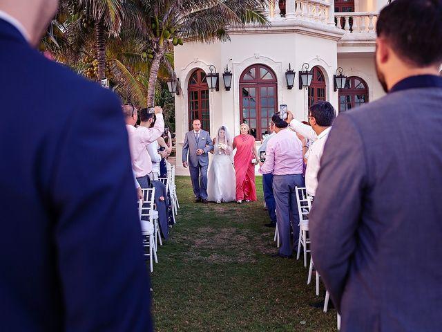 Mark and Alina's Wedding in Playa del Carmen, Mexico 28