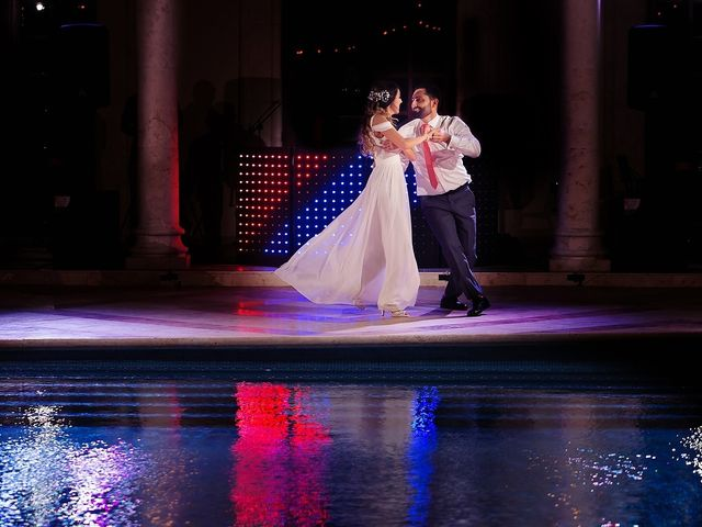 Mark and Alina's Wedding in Playa del Carmen, Mexico 43
