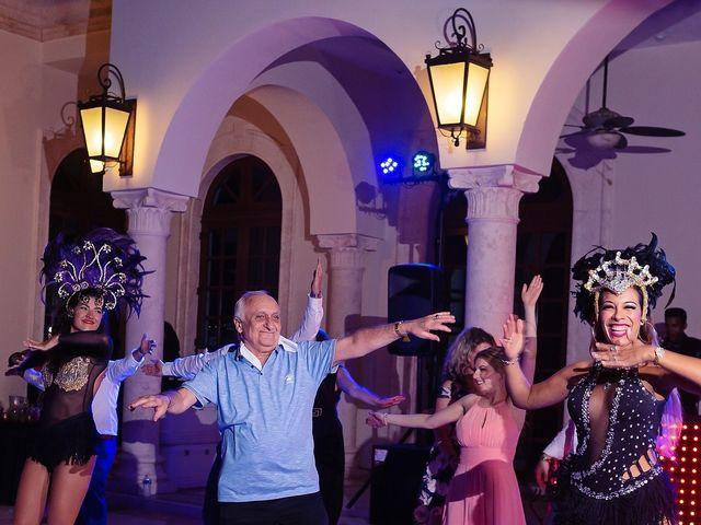 Mark and Alina's Wedding in Playa del Carmen, Mexico 76