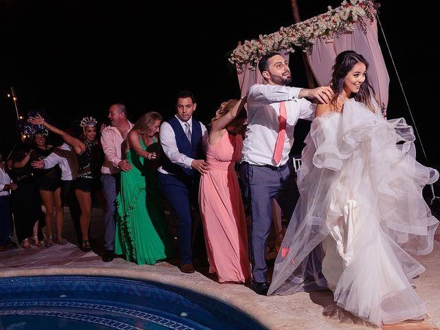 Mark and Alina's Wedding in Playa del Carmen, Mexico 77