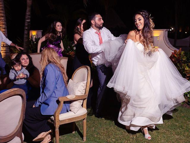 Mark and Alina's Wedding in Playa del Carmen, Mexico 78