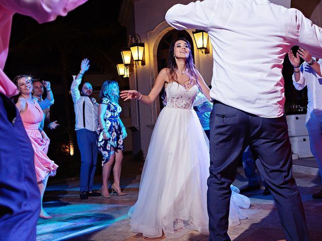 Mark and Alina's Wedding in Playa del Carmen, Mexico 80
