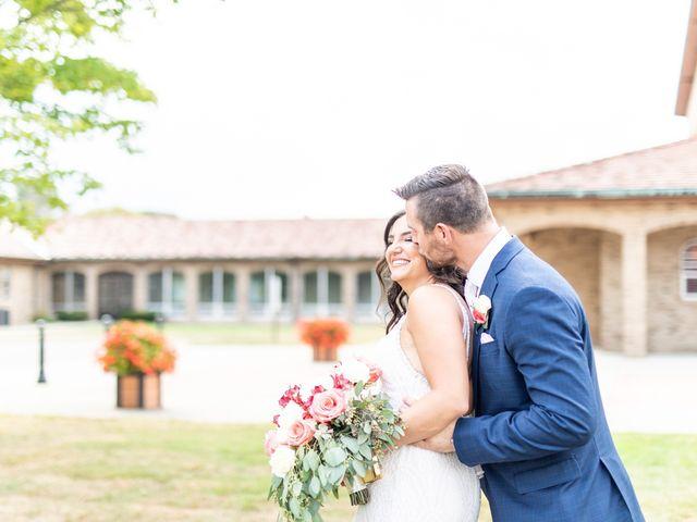 The wedding of Bianca and David