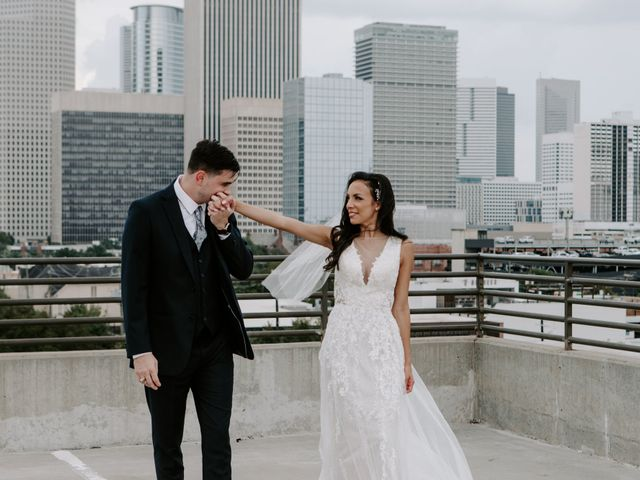 The wedding of Kahlise and Justin