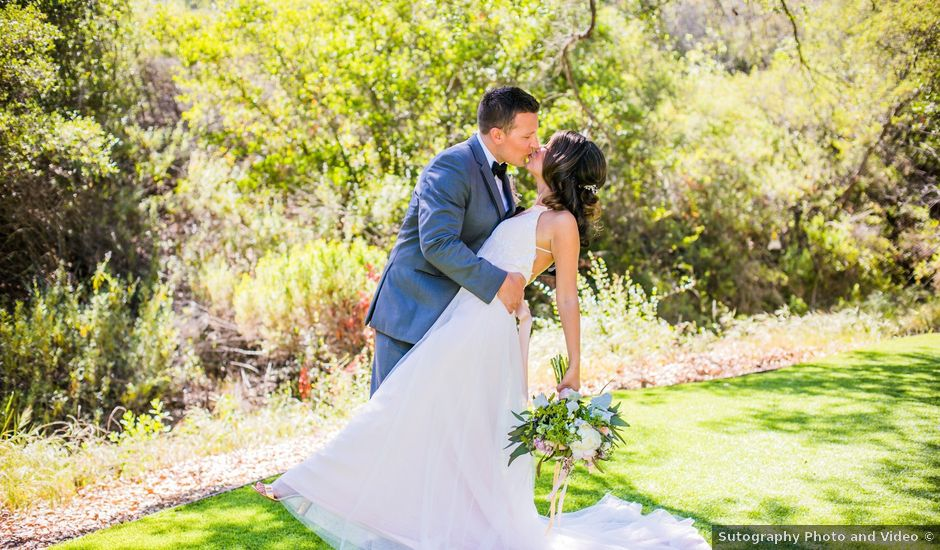 Andrew and Stephanie's Wedding in Fallbrook, California