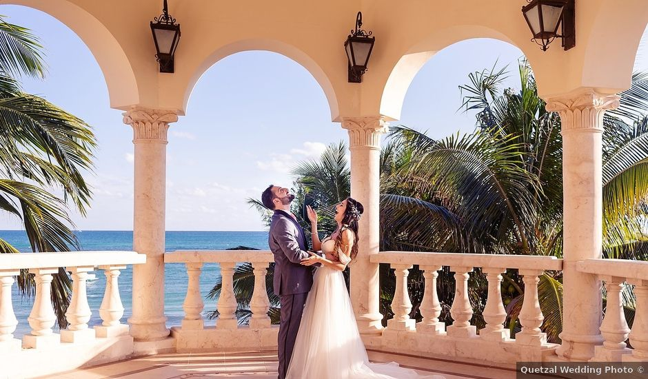 Mark and Alina's Wedding in Playa del Carmen, Mexico