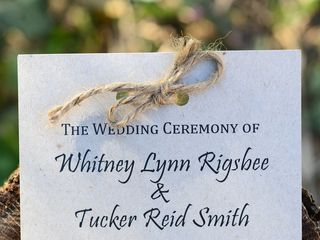 The wedding of Tucker and Whitney 2
