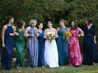 Whitney and Tucker's Wedding in Mill Spring, North Carolina 3
