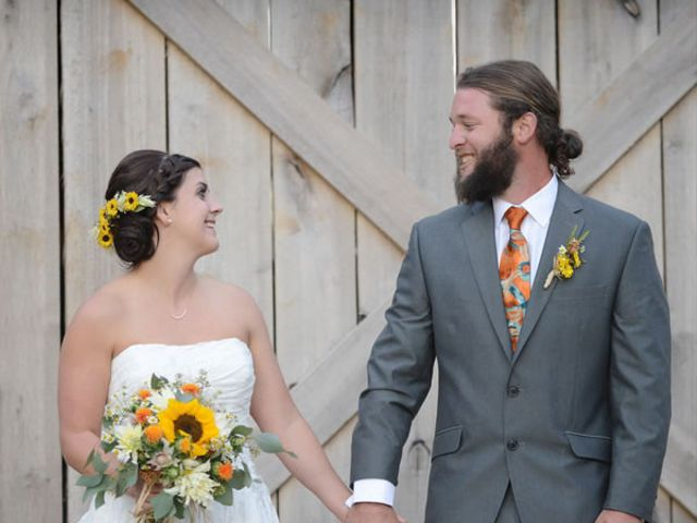The wedding of Tucker and Whitney