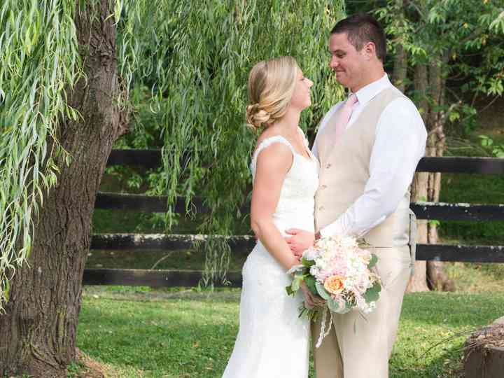 The wedding of Tyler and Erin