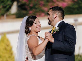 The wedding of Victoria and Esteban