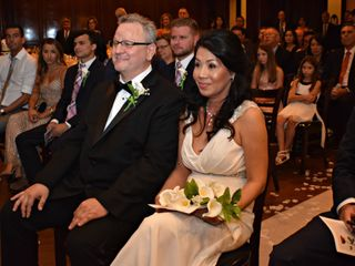The wedding of Lyliana and David