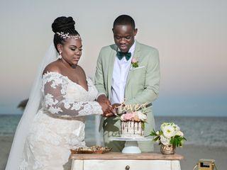 The wedding of Ashley and Komi
