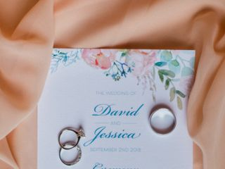 The wedding of Jessica and David 2