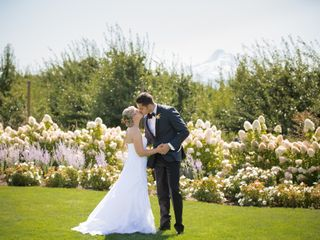 The wedding of Jacqueline and Aaron