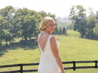 Erin and Tyler's Wedding in Purcellville, Virginia 6