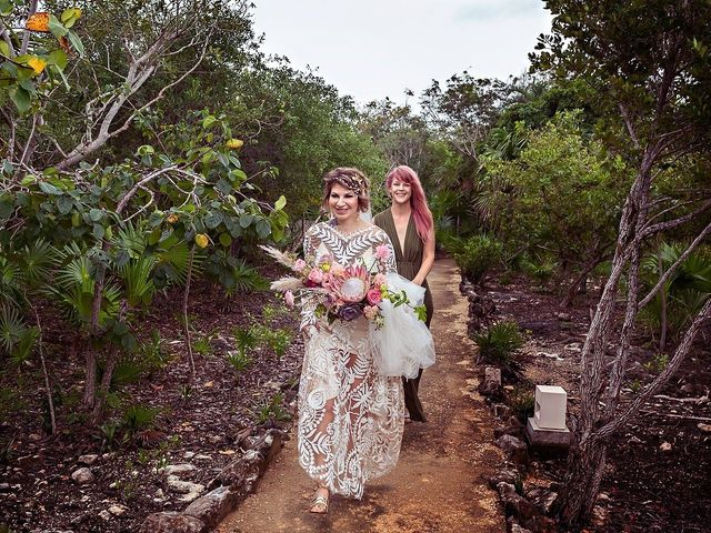 James and Priscilla's Wedding in Akumal, Mexico 22